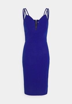 WAL G. - AINSLEY DOUBLE STRAP MIDI DRESS - Sukienka etui - electric blue