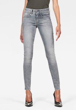 G-Star - LYNN MID SKINNY - Jeans Skinny Fit - faded industrial grey