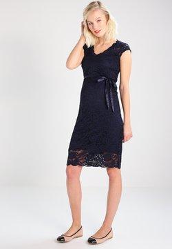 MAMALICIOUS - MLNEWMIVANA CAP DRESS - Cocktailklänning - navy blazer