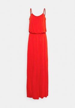 Vila - VICANSA STRAP MAXI DRESS - Maxikleid - flame scarlet