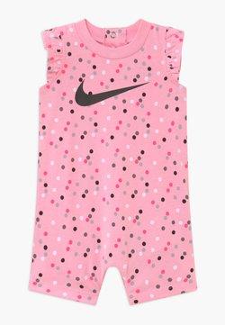 Nike Sportswear - GIRLS FLUTTER SLEEVE ROMPER BABY - Combinaison - pink
