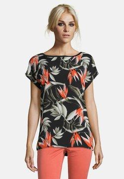 Cartoon - MUSTER - T-Shirt print - black/orange