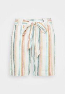 ONLY Carmakoma - CARSTACYI - Shorts - desert sage/multi stripes
