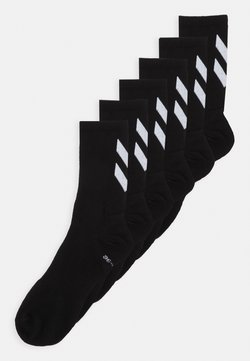 Hummel - CHEVRON 6 PACK UNISEX  - Sportsocken - black