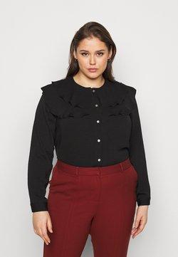 Vero Moda Curve - VMWIGGA COLLAR - Camicia - black