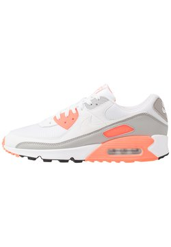 Nike Sportswear - AIR MAX 90 - Sneakers laag - white/hyper orange/light smoke grey