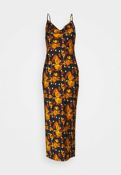 Glamorous Petite - LADIES DRESS POLKADOT - Ballkleid - ochre