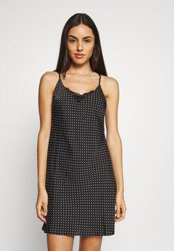 Marks & Spencer London - CHEMISE SPOT CHEMIS - Nachthemd - black