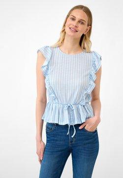 ORSAY - T-Shirt print - samtblau