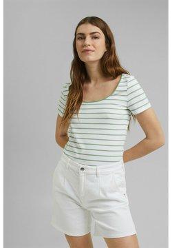 Esprit - TSHIRT DANCER - T-Shirt print - leaf green
