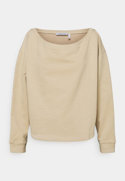 NU-IN - OFF SHOULDER LOUNGE - Sweatshirt - beige
