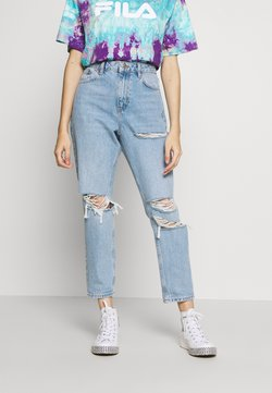 Topshop Petite - MOM TOKYO - Jeans Relaxed Fit - bleach