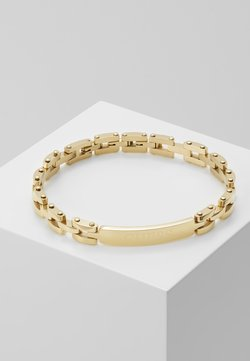 Guess - CENTRAL TAG CHAIN - Bracelet - gold-coloured