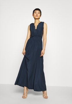 YAS - ELENA MAXI DRESS SHOW - Robe de cocktail - dark sapphire