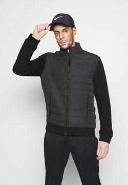 Calvin Klein Golf - HYBRID JACKET - Softshelljacke - black