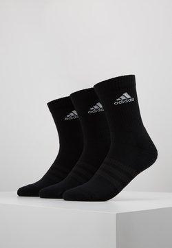adidas Performance - CUSH 3 PACK - Urheilusukat - black/white