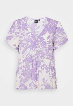 GAP - PEPLUM TOP - T-Shirt print - purple