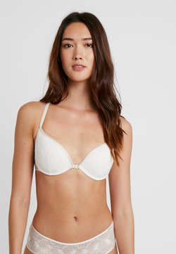 Women Secret - CONTRAST OLYMPIC - Push-up BH - offwhite