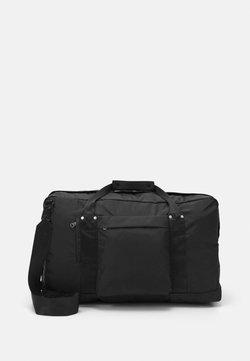 ARKET - WEEKEND BAG UNISEX - Bolsa de fin de semana - black