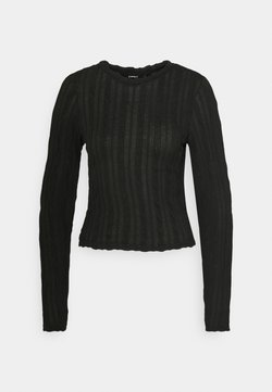 ONLY Tall - ONLKELLY CROPPED  - Longsleeve - black