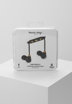 Happy Plugs - EAR PIECE II - Hörlurar - black/gold-coloured