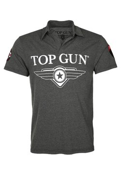 TOP GUN - MODERN MOON - Poloshirt - anthracite