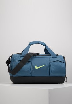 Nike Performance - POWER DUFF - Sporttasche - thunderstorm/dark smoke grey/ghost green