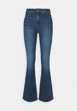 Wrangler - Jeans a zampa - shadow blue