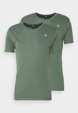 G-Star - BASE 2 PACK - Basic T-shirt - teal grey