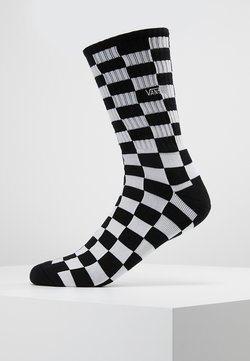 Vans - UA CHECKERBOARD CREW II (6.5-9, 1PK) - Socken - black/white