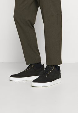 Filling Pieces - LOW TOP RIPPLE CERES - Trainers - black