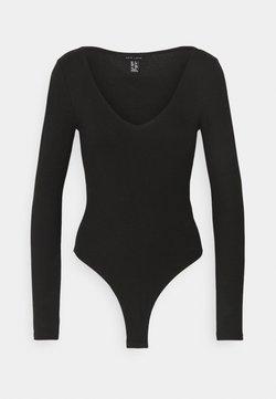 New Look - Langarmshirt - black