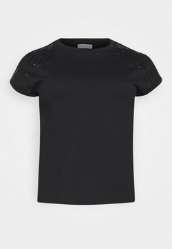 Anna Field Curvy - Camiseta estampada - black