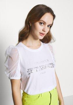 River Island Petite - Camiseta estampada - white