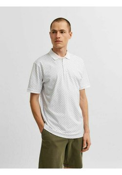 Selected Homme - SLHHART - Poloshirt - bright white