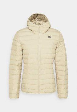 adidas Performance - VARILITE SOFT HOODED - Daunenjacke - savann