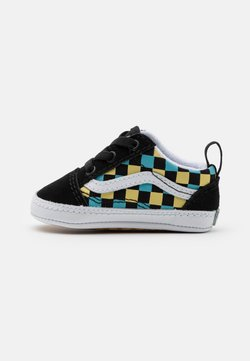 Vans - OLD SKOOL CRIB UNISEX - Krabbelschuh - black/multicolor