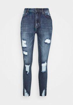 SIKSILK - SKINNY DENIMS - Jeans Skinny Fit - blue