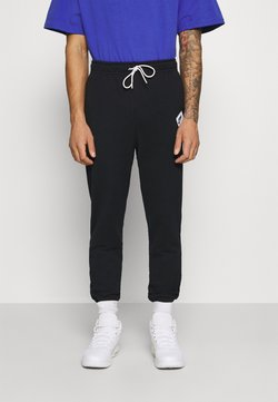 Jordan - PANT - Jogginghose - black/white