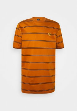 Scotch & Soda - MERCERIZE - T-Shirt print - orange