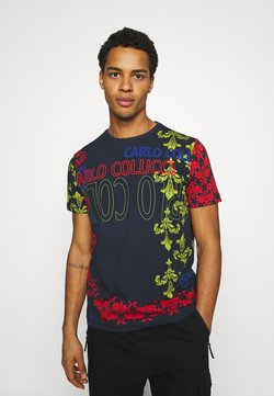 Carlo Colucci - UNISEX - T-Shirt print - navy