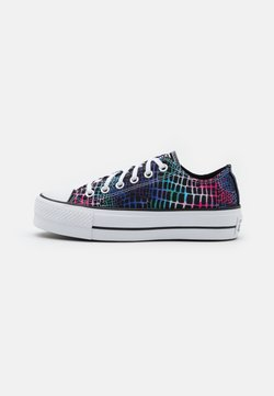 Converse - CHUCK TAYLOR ALL STAR LIFT - Zapatillas - pink/court green/white