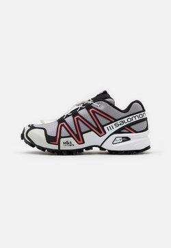 Salomon - SHOES SPEEDCROSS 3 ADV UNISEX - Sneaker low - alloy/black/white