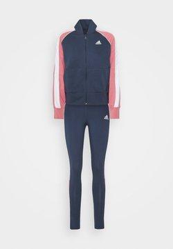adidas Performance - BOMB SET - Trainingsanzug - dark blue
