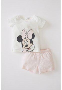 DeFacto - SET - Pijama - ecru