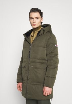 Tommy Jeans - CASUAL PUFFER - Wintermantel - dark olive