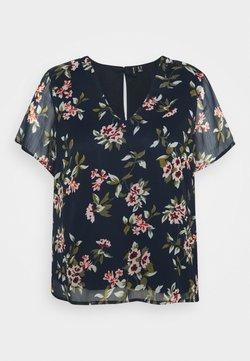 Vero Moda Curve - VMKAY CURVE - Bluse - navy blazer