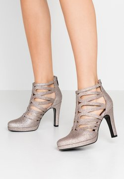 Tamaris - High heeled ankle boots - space glam