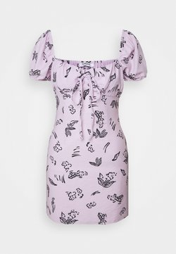 Glamorous - FLOWER PRINT DRESS - Freizeitkleid - lilac
