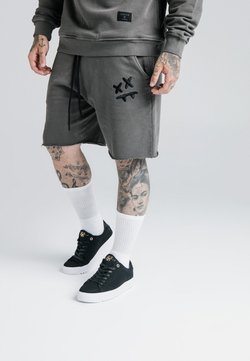 SIKSILK - STEVE AOKI - Jogginghose - washed grey